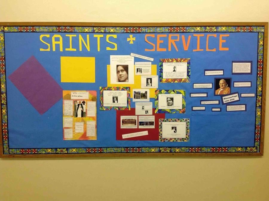 Saint Role Models At St. Robert School