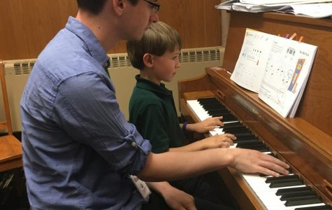 St. Robert School's New Piano Teacher