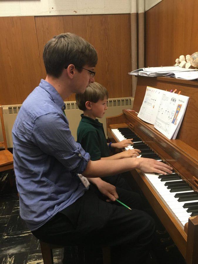 St. Robert School's New Piano Teacher