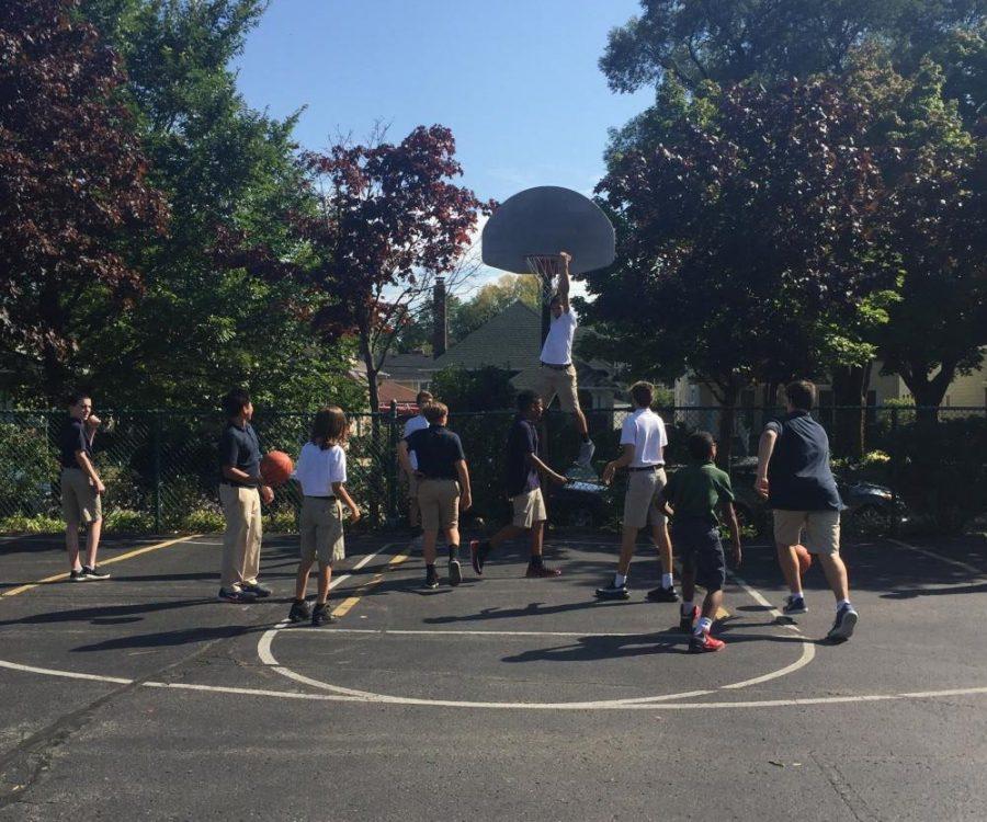 Recess Basketball