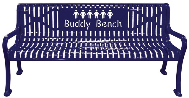 Need a Buddy? The Buddy Bench is here!