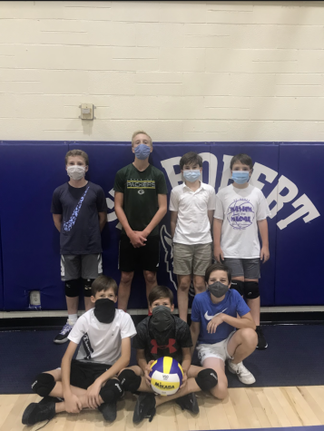 The Very Special Volleyball Team